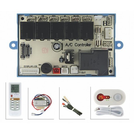 Motion Detection A/C Control System