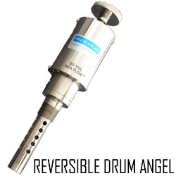 Drum Pump Reversable Air Operated - Stainless Steel