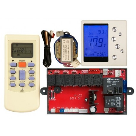 U01D Universal A/C Control System - Wall Mounted Control