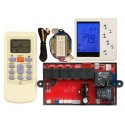 Under Ceiling/Hideaway A/C Control System - Wall Mounted Control